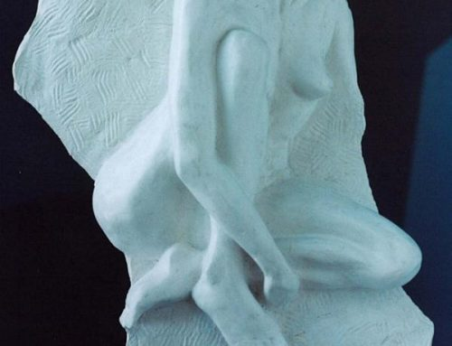 White Body Bas Relief